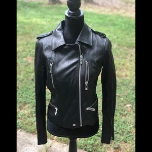 Brand new Avec Les Filles Leather Moto Jackets